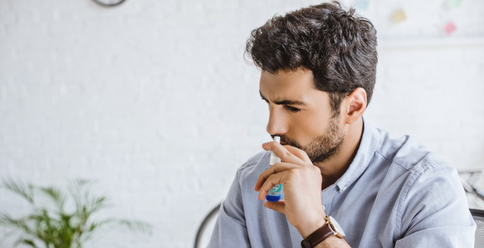 Increase moisture in the nose